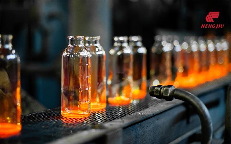 Die Kette für die Hohlglasindustrie